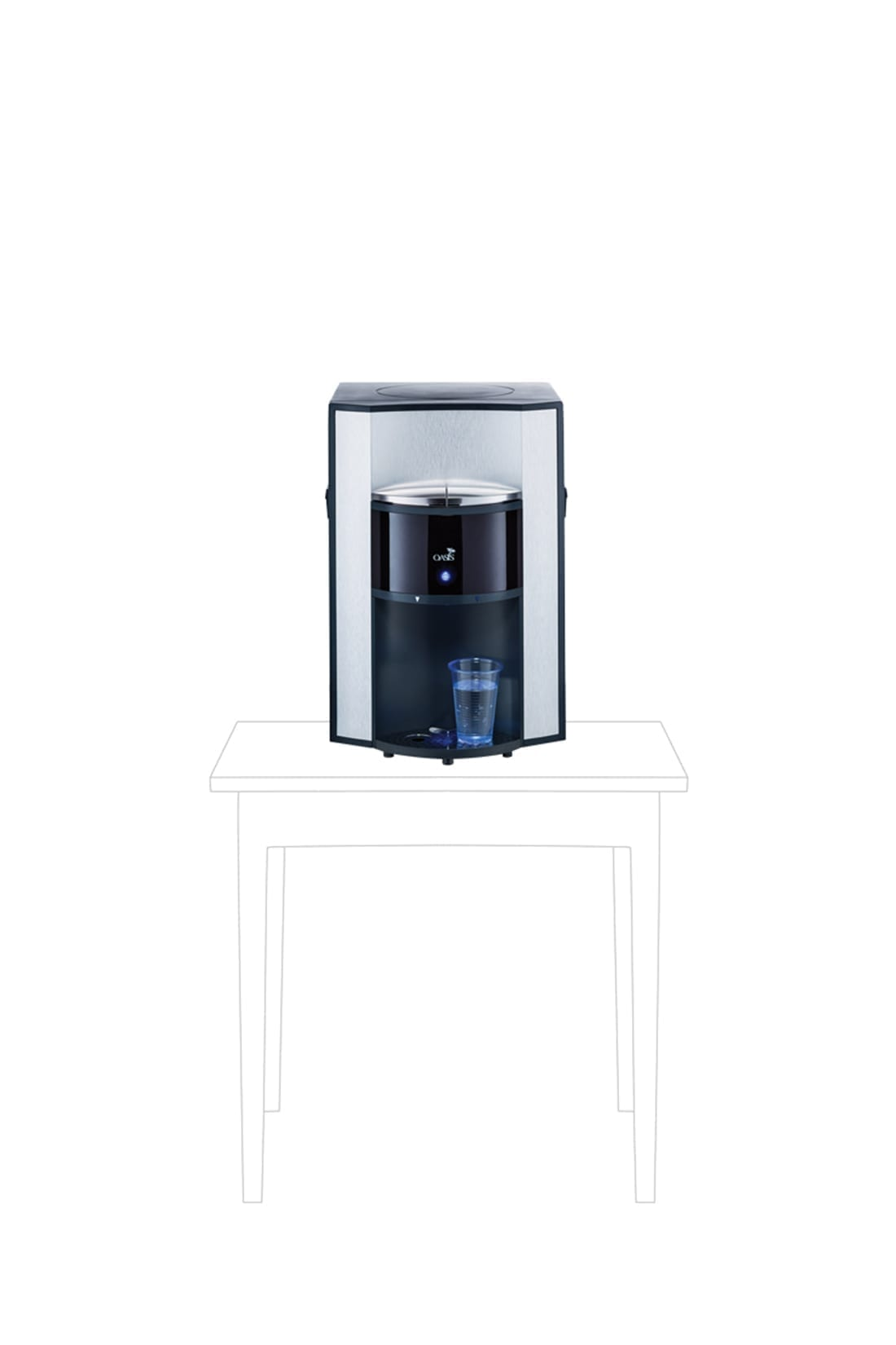 Onyx-Leitungsgebundener Wasserspender